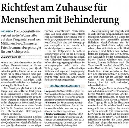 Mittelbayerische zeitung regensburg bekanntschaften